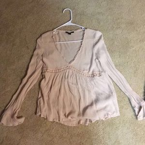 Forever 21 Creme Top